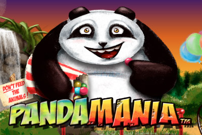 Pandamania Mobile Slot Logo