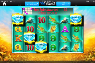 Raging Rhino Mobile Slot Free Spins