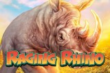 Raging Rhino Mobile Slot Logo