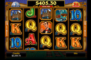 Riviera Riches Mobile Slot Free Spin
