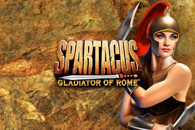 Spartacus Mobile Slot Logo