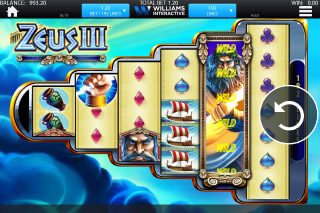 Zeus 3 Mobile Slot Screenshot