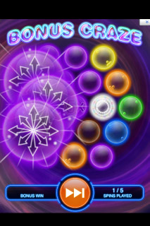 Bubble Craze Mobile Slot Bonus Craze