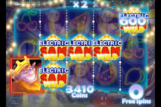 Electric Sam Mobile Slot Free Spins