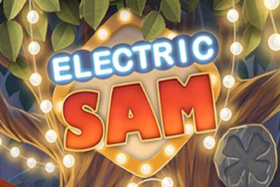 Electric Sam Mobile Slot Logo