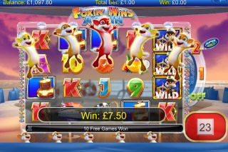 Foxin Wins Again Mobile Slot Free Spins