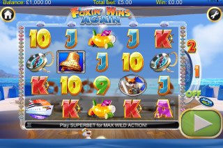 Foxin Wins Again Mobile Slot Screenshot