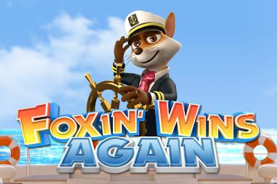 Foxin Wins Again Slot Logo