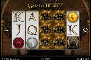 Game of Thrones Mobile Slot Screenshot