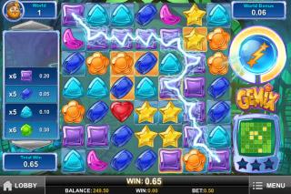 Gemix Mobile Slot Bonus