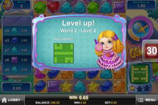Gemix Mobile Slot Level Up