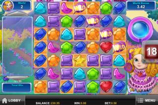 Gemix Mobile Slot Princess World
