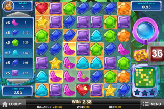 Gemix Mobile Slot Wins