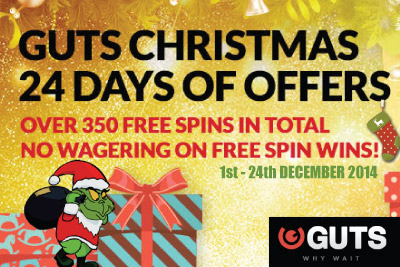 Grab Your No Wagering Casino Free Spins this Christmas