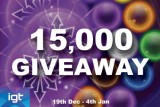 15,000 Reasons to Play at IGT Mobile Casinos this Month