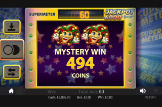 Jackpot 6000 Mobile Slot Mystery Win