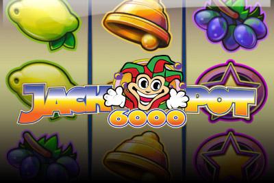 Jackpot 6000 Mobile Slot Logo