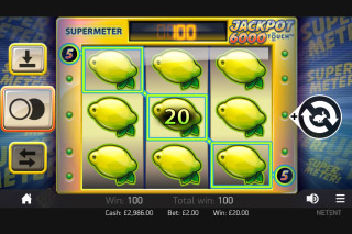 Jackpot 6000 Mobile Slot Win