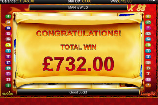 Lucky88 Mobile Slot Free Spins Win