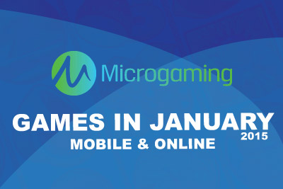 New Microgaming Casino Slots & Games Out in January 2015