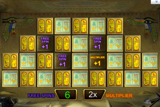Pharaohs Fortune Mobile Slot Bonus Game
