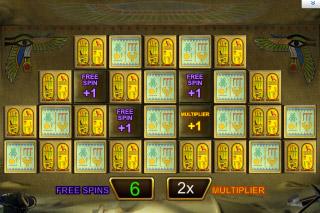 Pharaohs Fortune Mobile Slot Bonus Game