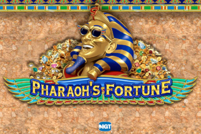Pharaohs Fortune Mobile Slot Logo