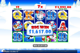 Santa Paws Mobile Slot Big Win
