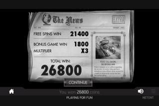 The Invisible Man Slot Bonus Win