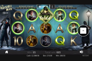 The Invisible Man Slot Free Spins Round