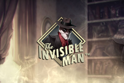 The Invisible Man Mobile Slot Logo