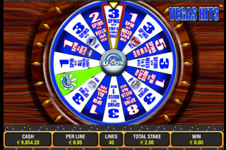 Vegas Hits Mobile Slot Bonus Wheel