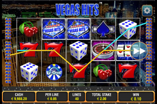 Vegas Hits Mobile Slot Screenshot