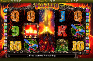 Volcano Eruption Mobile Slot Free Spins