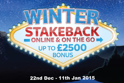 Win More Online & On the Go With Winter Stakeback