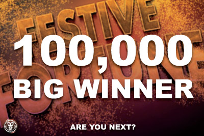 £100,000 Big Casino Winner Starts the New Year off Right