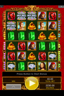 Da Vinci Diamonds Dual Play Free Spins