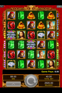 Da Vinci Diamonds Dual Play Screenshot