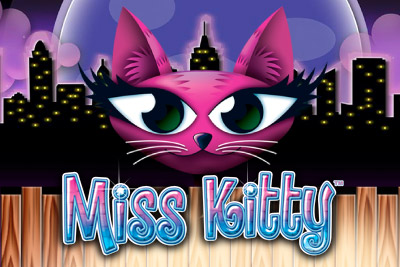 Miss Kitty Mobile Slot Logo