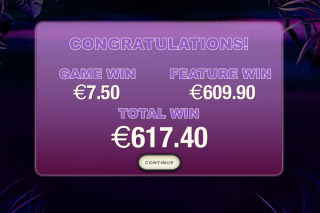 Panther Moon Slot Free Spins Win