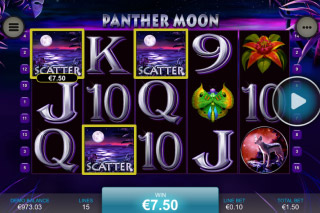Panther Moon Slot Scatters