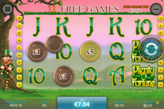 Plenty O Fortune Mobile Slot Free Spins