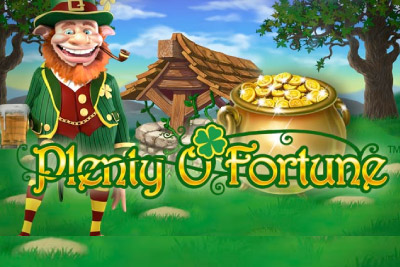 Plenty O Fortune Mobile Slot Logo
