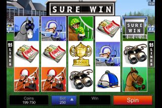 Sure Win Mobile Slot Screenshot