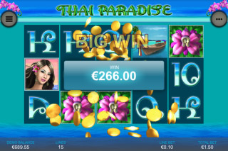 Thai Paradise Mobile Slot Big Win