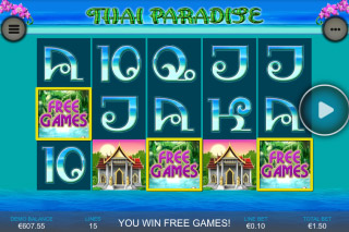 Thai Paradise Mobile Slot Screenshot