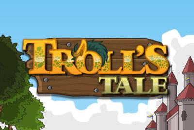 Troll's Tale Mobile Slot Logo