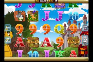Troll's Tale Mobile Slot Screenshot