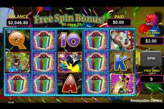 Wild Birthday Blast Slot Free Spins