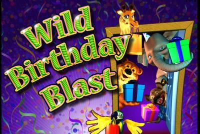 Wild Birthday Blast Slot Logo